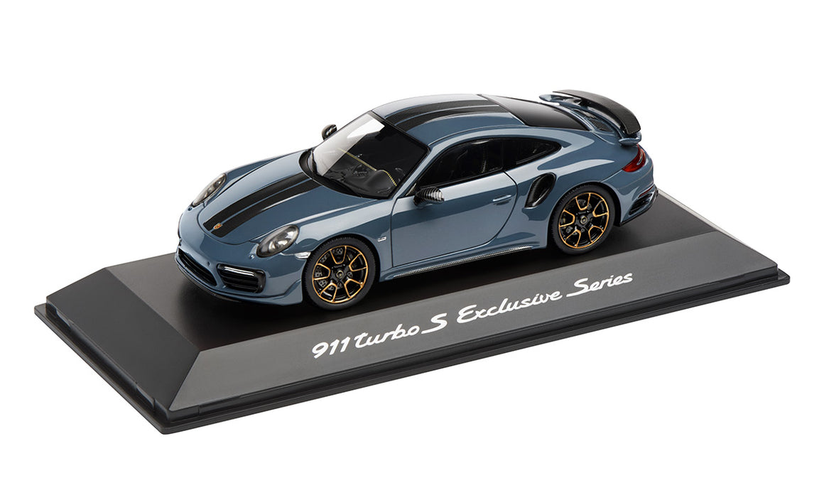 911 Turbo S, Exclusive Series, Metallic Graphite Blue, 1:43