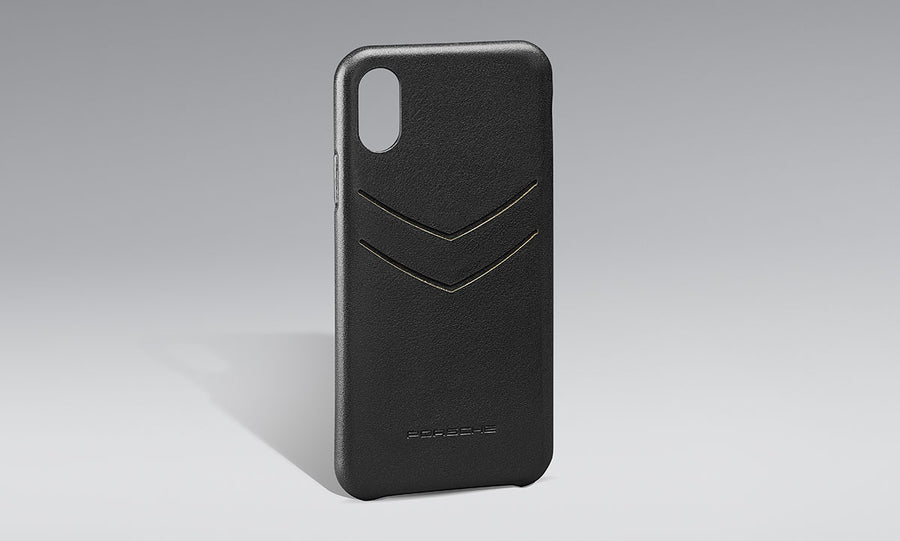 Snap-On Case leather iPhone X