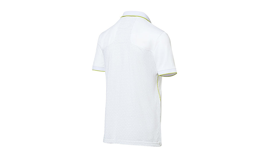 Men's polo shirt, white – Sport
