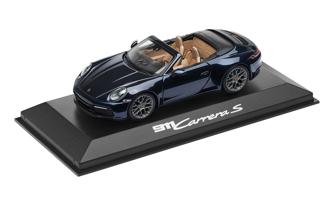 911 (992) C4S Coupé, night blue metallic, 1:43
