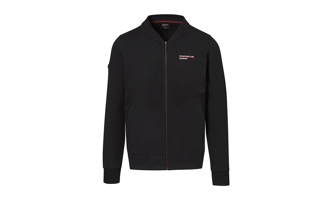 Men's Black Sweat jacket Motorsports Collection, Fanwear