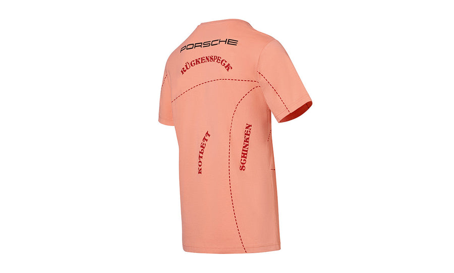 Motorsport Collection, T-Shirt, 'Pink Pig', Unisex, salmon