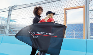 Motorsports Collection, Fanwear, Flag, black, 90x60cm