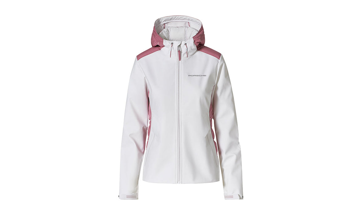 Taycan Collection, Women's White / Rose Jacket