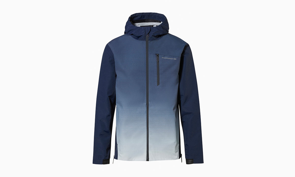 Turbo Collection, Jacket in blue ombré