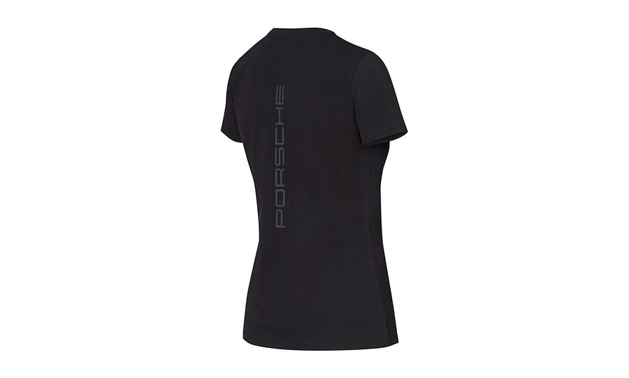 Women's Black t-shirt Motorsports Collection, Fanwear