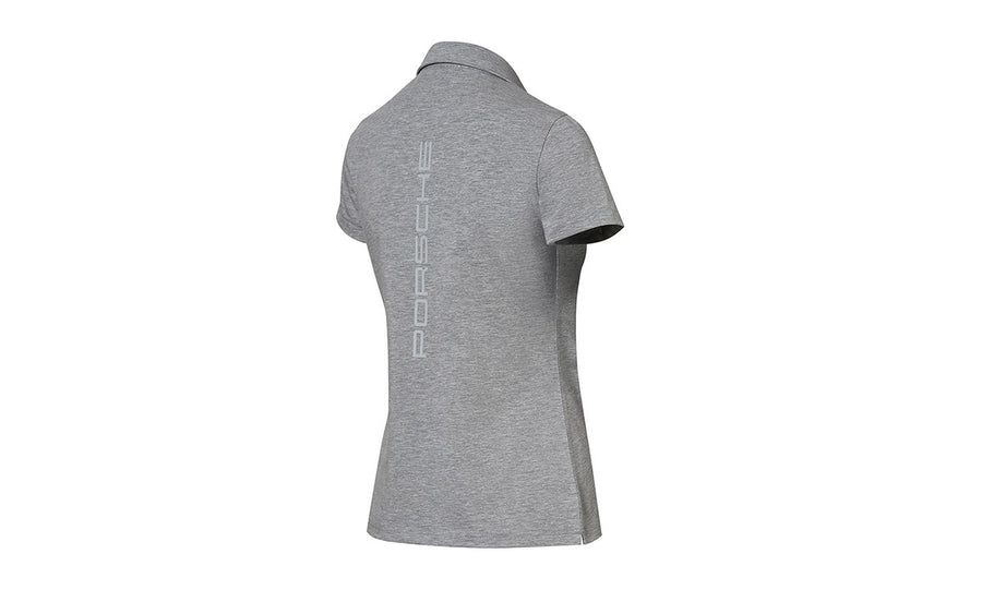 Women's Grey polo Motorsports Collection, Fanwear