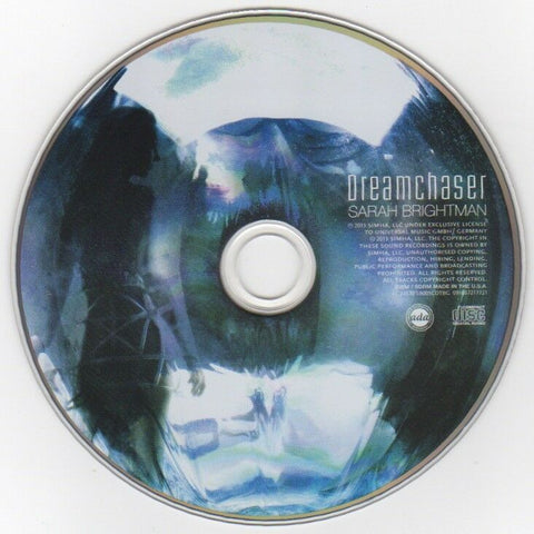 "Sarah Brightman ""Dream Chaser"" © 2013 CD"