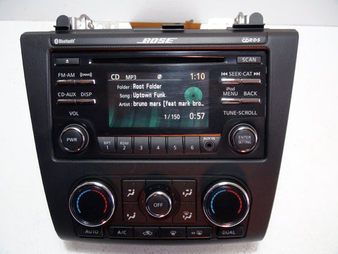 Nissan Altima 2010-2013 CD player (BOSE)