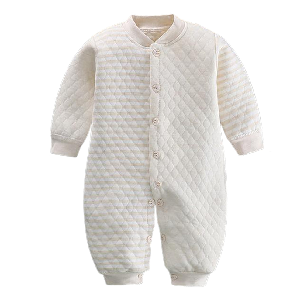 Jumpsuit romper made from premium cotton and spandex for newborns or infants