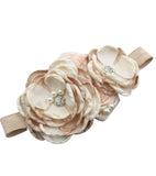 Newborn to Toddler 3d Elegant Floral Headband - Alure Baby Collections