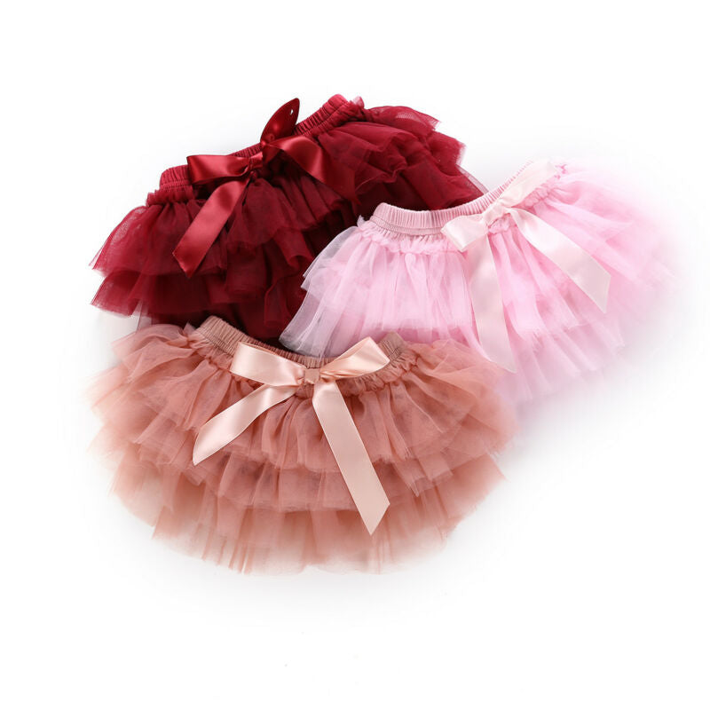 Chloe-Baby Set- Baby Infant Diaper Skirt Tutu- Baby Girl Tutu Skirts-Alure Baby Collections