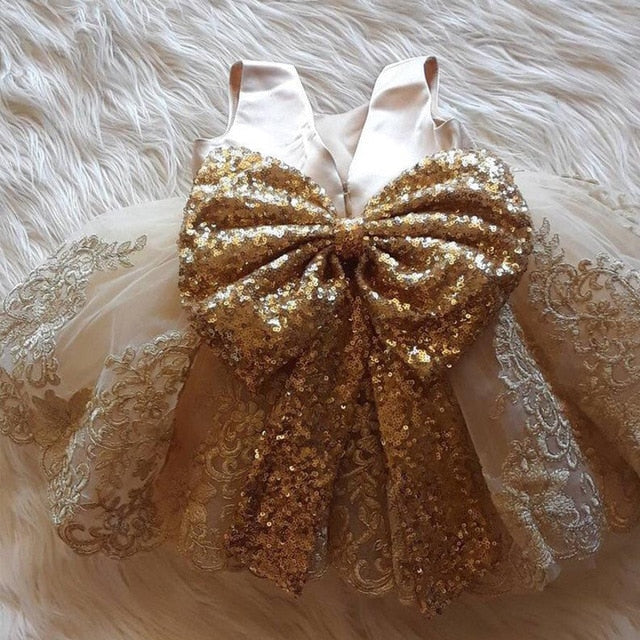 Golden- Champagne Dress