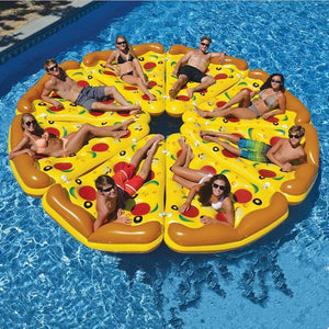 Pizza Shape Floating Bed For Swimming Pool