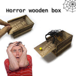 Prank Scare Wooden Box