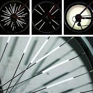 Bicycle Wheel Spoke Reflector (12 pcs)