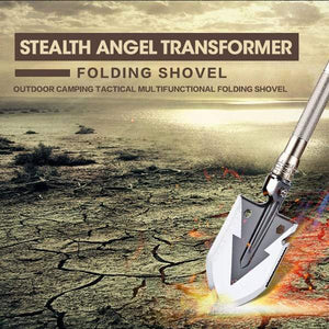 Stealth Transformer 15-in-1 Heavy-Duty Multi-Function Folding Shovel