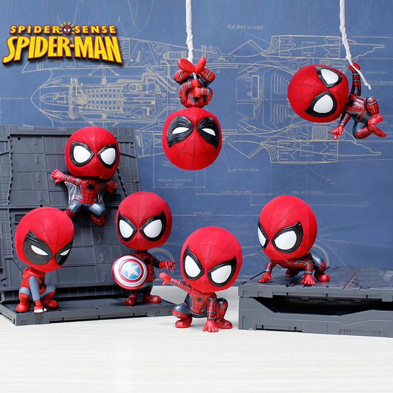 Q Version Spider-man Magnetic Toy