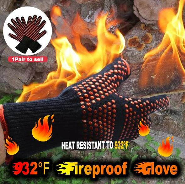 Extreme Heat Resistant Fireproof Gloves