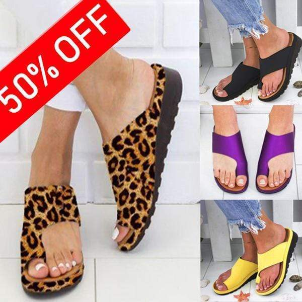 2019 Fashion Women Comfy Walking Sandals - esilvia