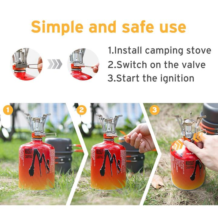 Portable Stainless Steel Ignitor Stove