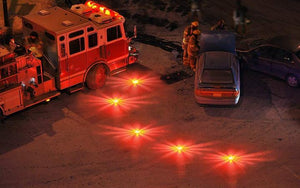 2 Pcs Emergency LED Flare Discs - 50% OFF