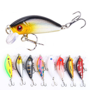 4 Pcs  5cm 4g Fishing Lure Artificial Hard Bait