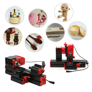 Mini DIY 6 in 1 Multi-functional Motorized  Machine Tool Kit