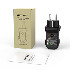 Meterk Advanced RCD Electric Socket Tester