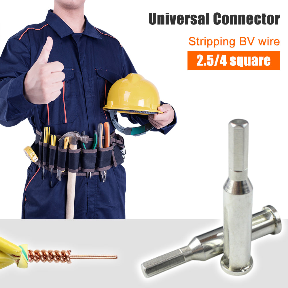 Universal Connector Electrician Trailing Frog 3 Pcs Set