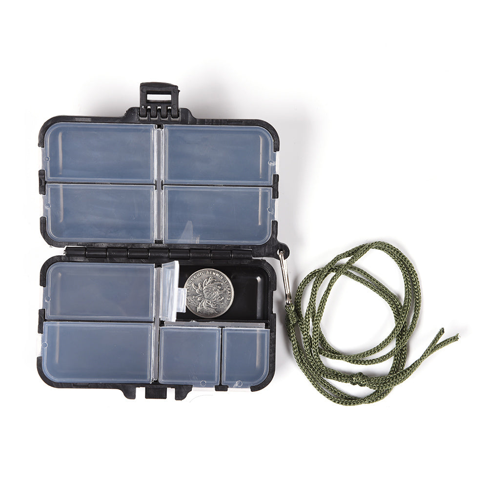 Fishing Tackle Box Fly Fishing Box 9 Compartments