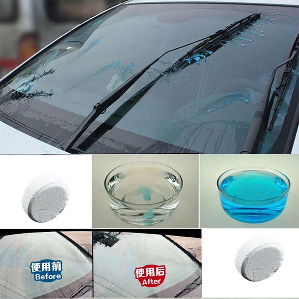 Car Solid Wiper Fine Auto Window Windshield Glass Cleaner