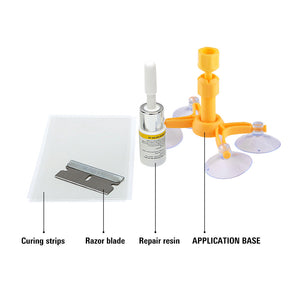 DIY Glass Repair Tools Scratch Crack Restore