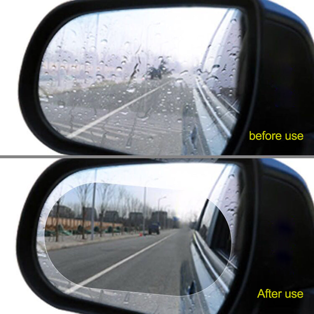 Large Size 15*10 cm Car Anti Fog Film (2 Pack)