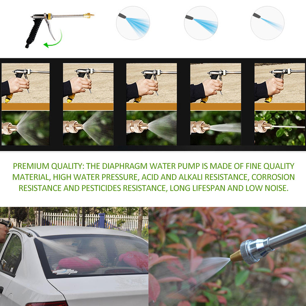 High-Pressure Electric Car Washer with Water Pump Kit