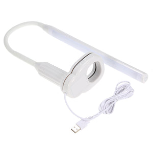 Bendable USB Powered Clamp Clip Light