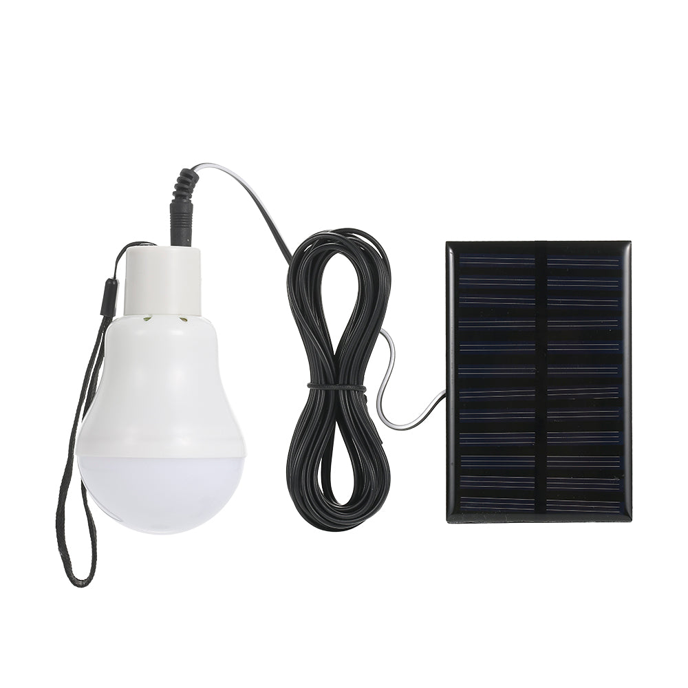 Solar-powered Light Bulb with Solar Panel
