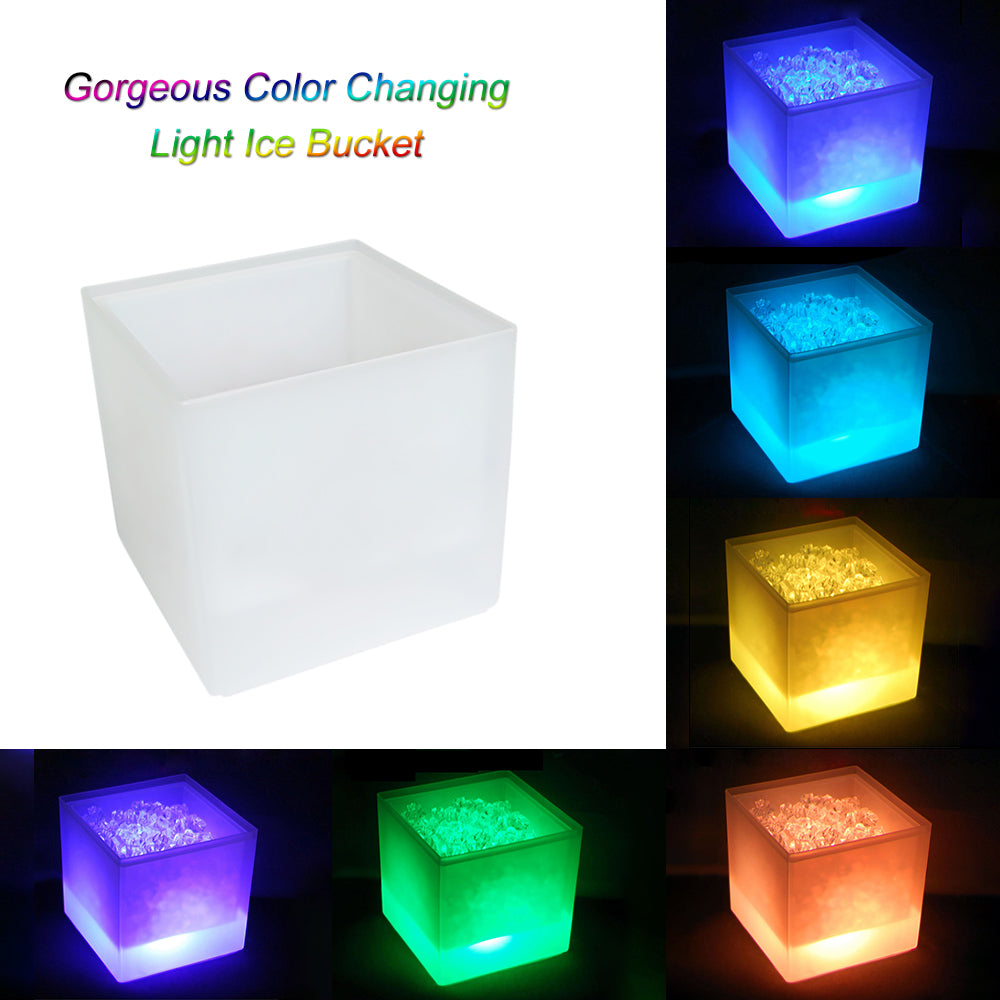 3.5 L Ice Bucket Colors Changing Light