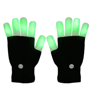 LED Glowing Gloves for Party and Gaming