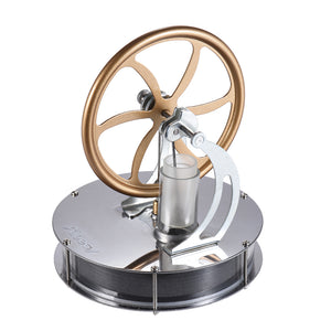Low Temperature Stirling Engine Motor