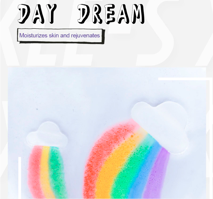 🔥Clearance Sale🔥 Rainbow Cloud Bath Bomb
