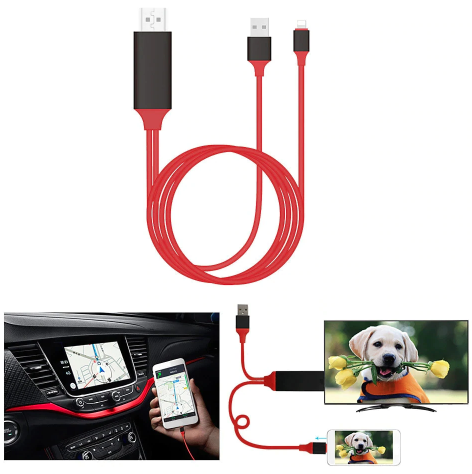 Phone Screen HDMI Converter Cable