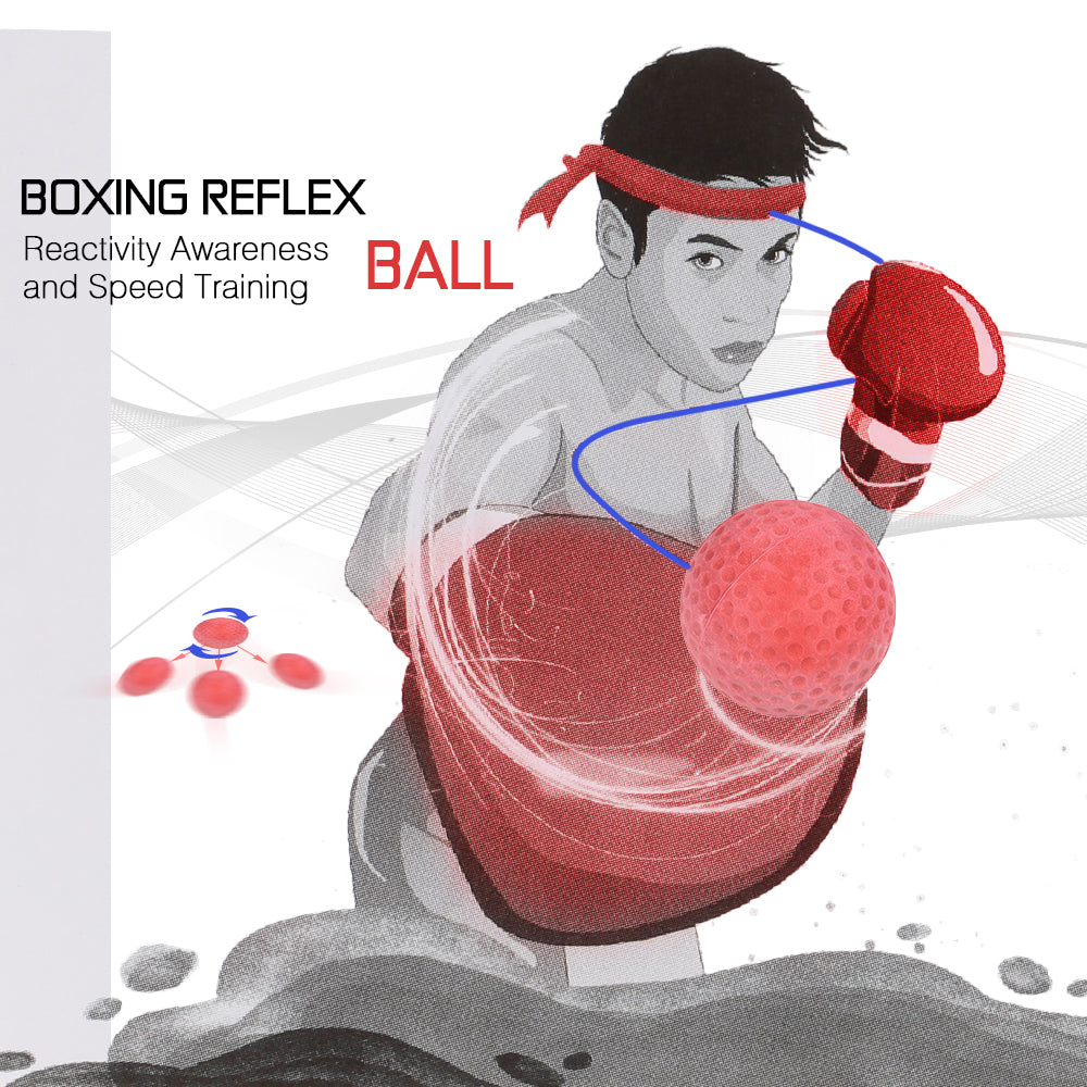 Reflex Boxing Ball for Exercise and Stress Relief