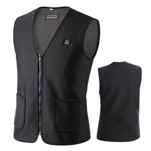 USB Charging Electric Heating Vest