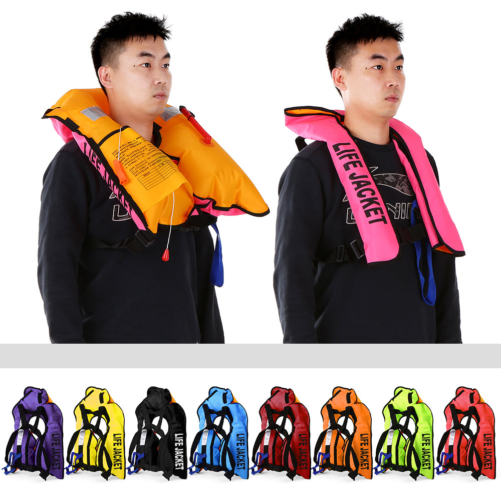 Manual Inflatable Life Jacket