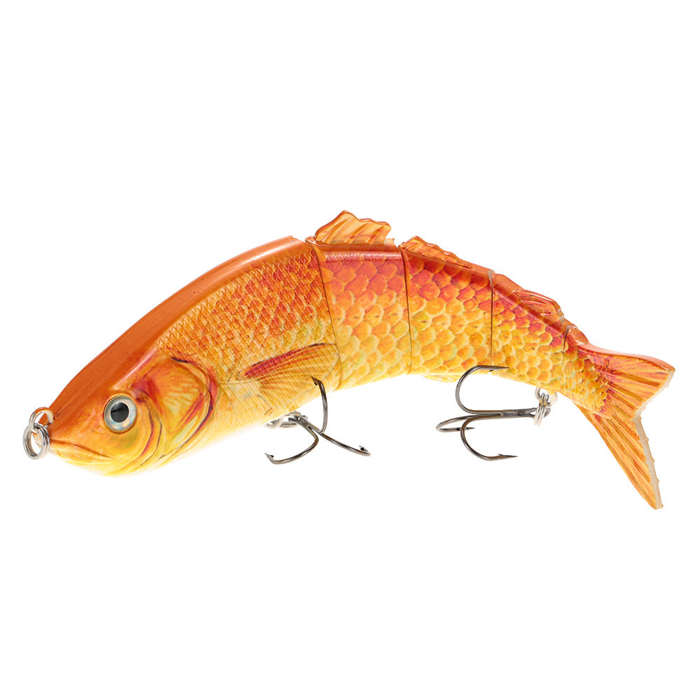 22 / 25cm Lifelike Multi-Jointed 5-Segment Fishing Lure (2 Pcs)