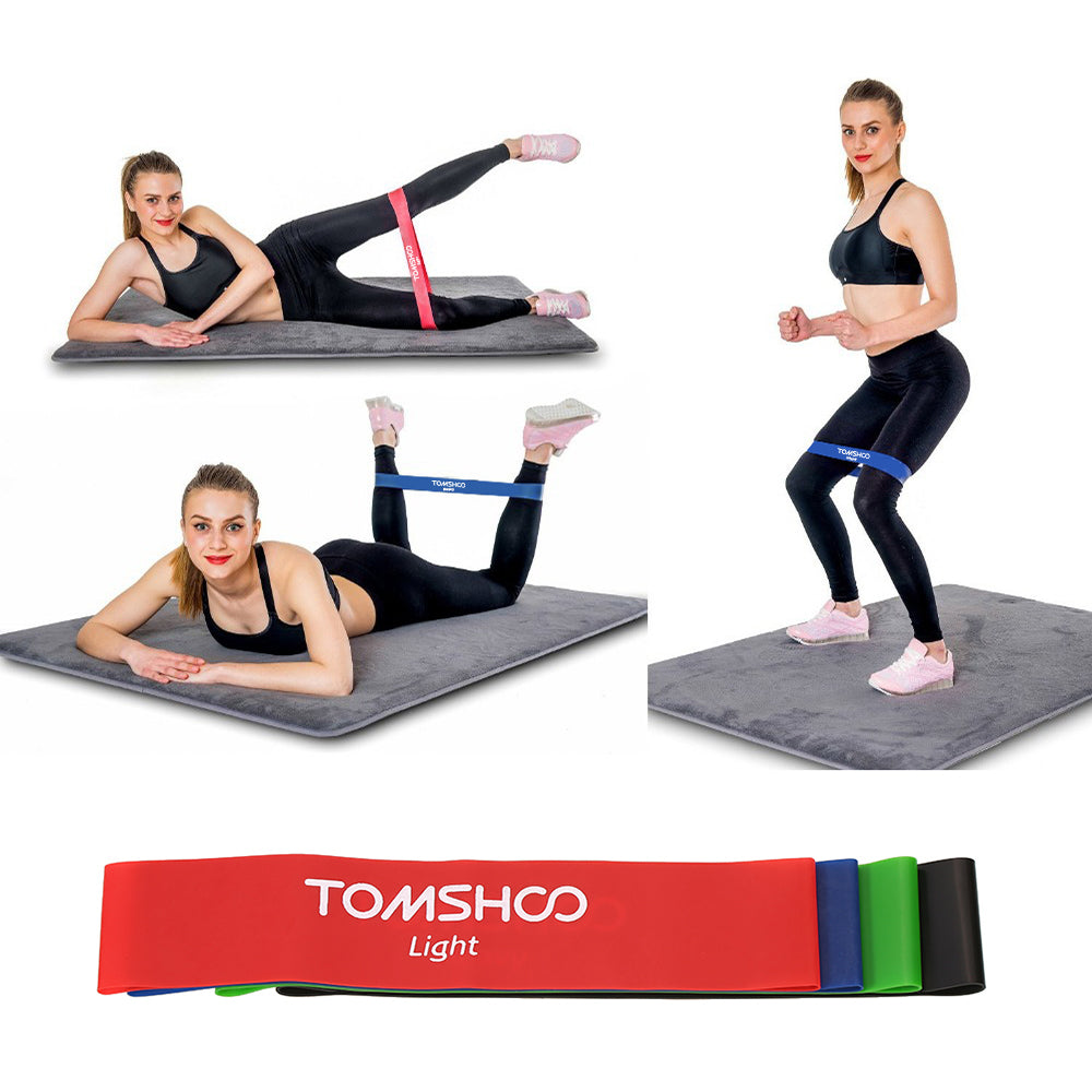 Exercise Resistance Loop Bands - 4 Set