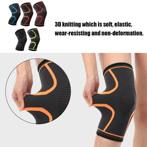 Elastic Knee Support Braces Sleeve (1 Pair)