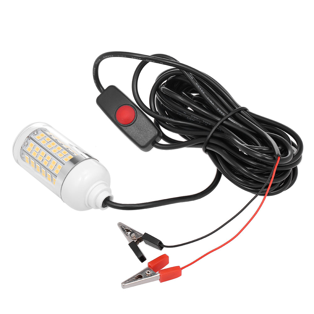 12V 15W Underwater Fishing Attract Light