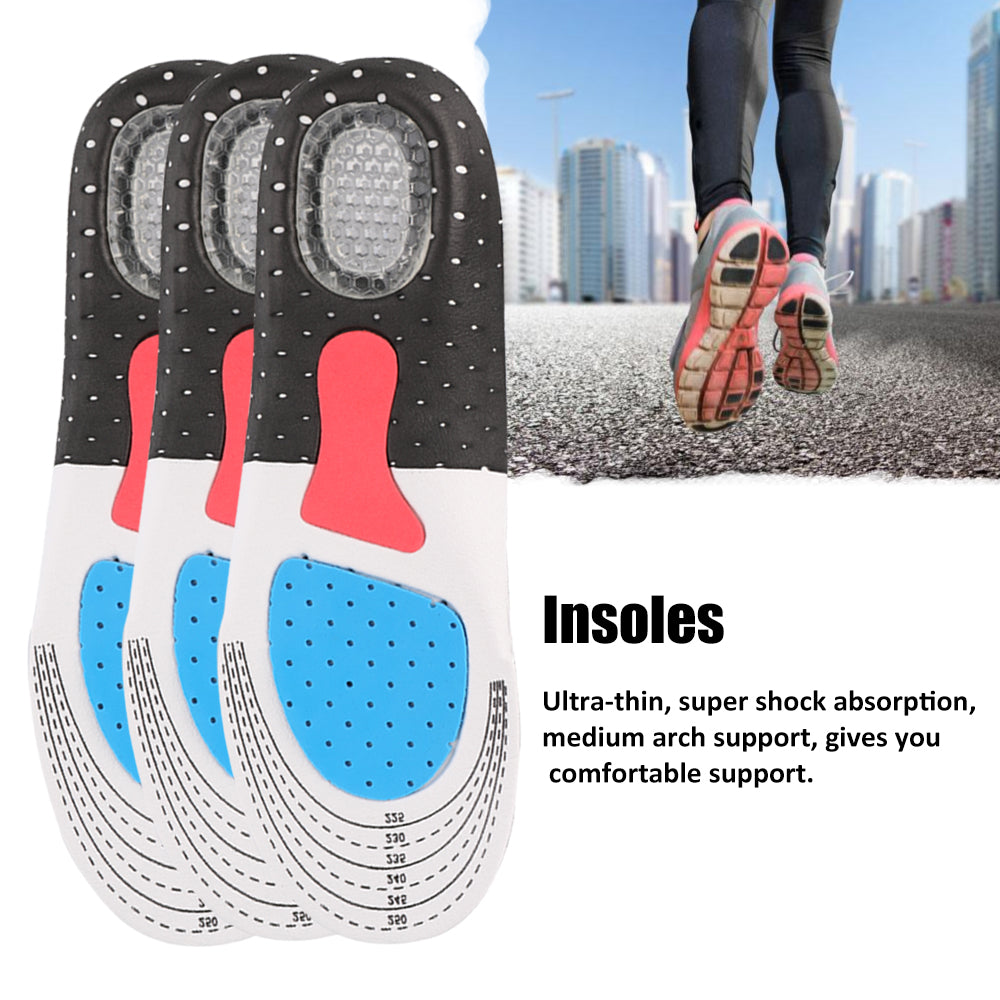 Orthopedic Foot Arch Support Sport Gel Insoles